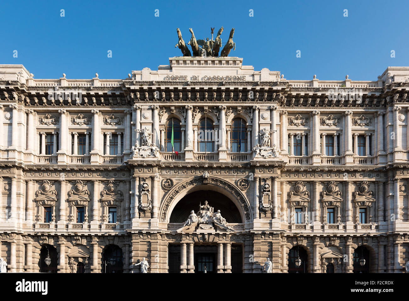 Palace of Justice, Piazza dei Tribunali, Rome, Italy - Stock Image