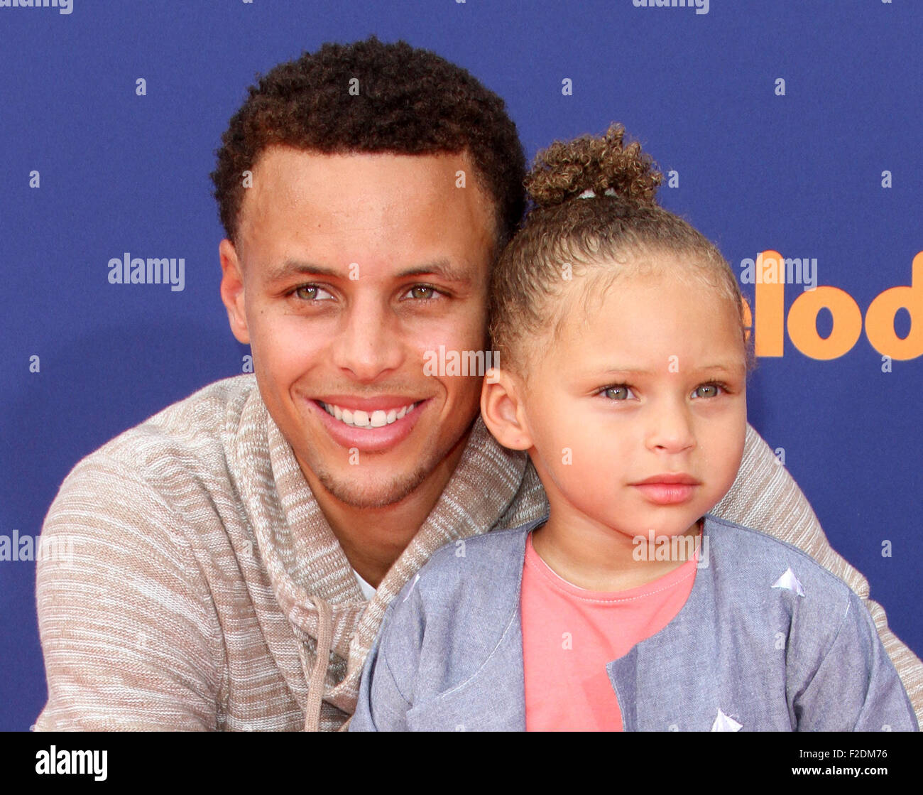 d395b69633eb Nickelodeon s Kids  Choice Sports 2015 Awards held at UCLA s Pauley  Pavillion Featuring  Stephen Curry