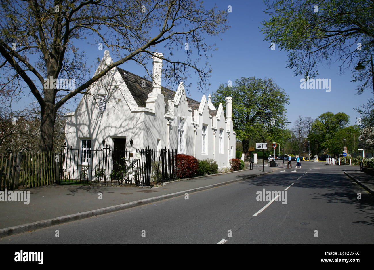 Old Grammar School, Dulwich Village, London, UK - Stock Image