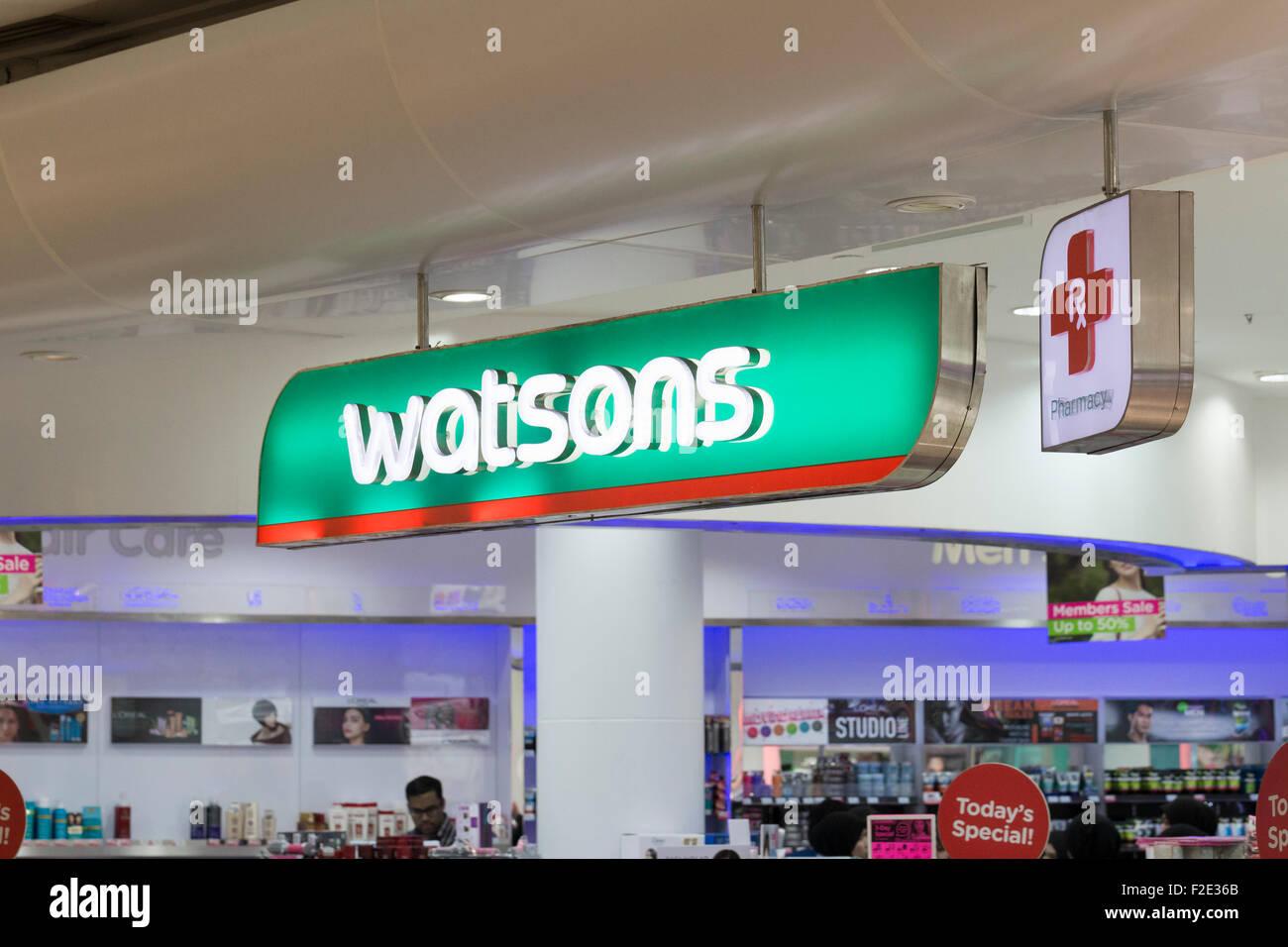 Watsons shop - Stock Image