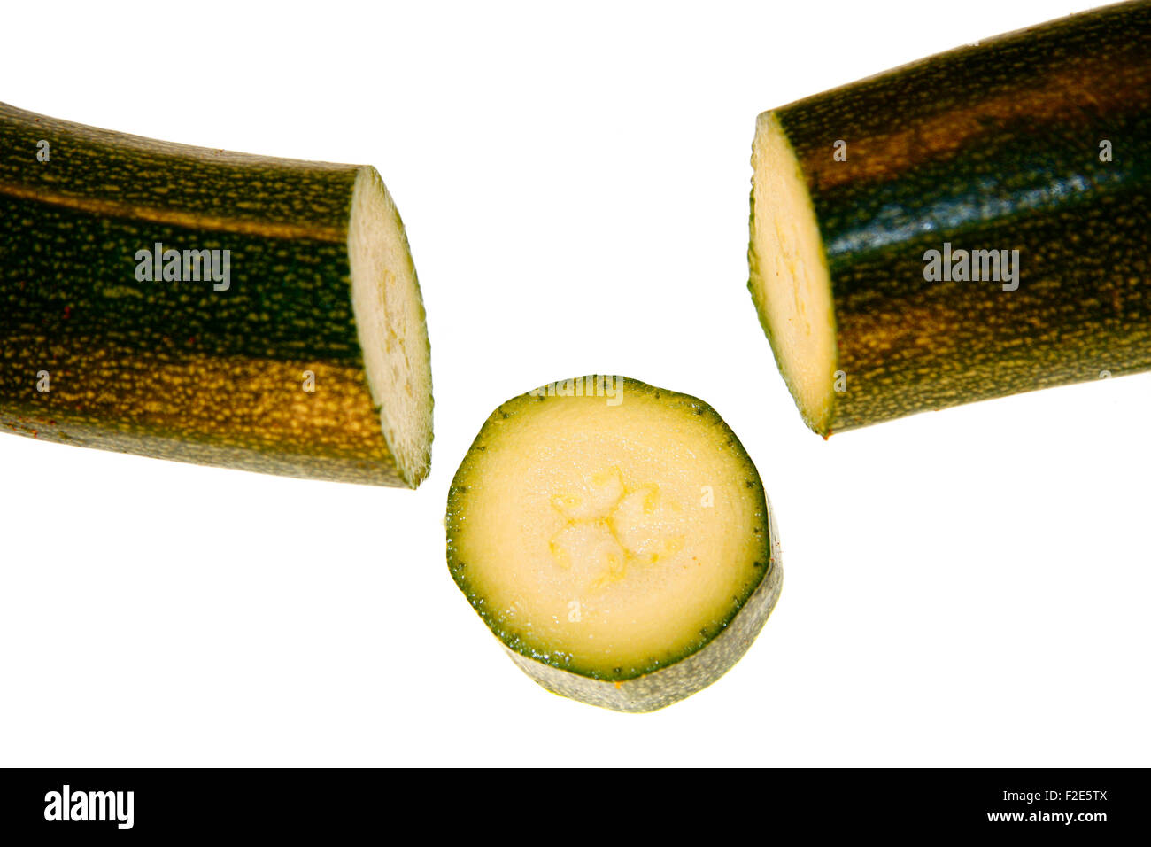 Zucchini / Zucchetti / courgette - Symbolbild Nahrungsmittel . Stock Photo