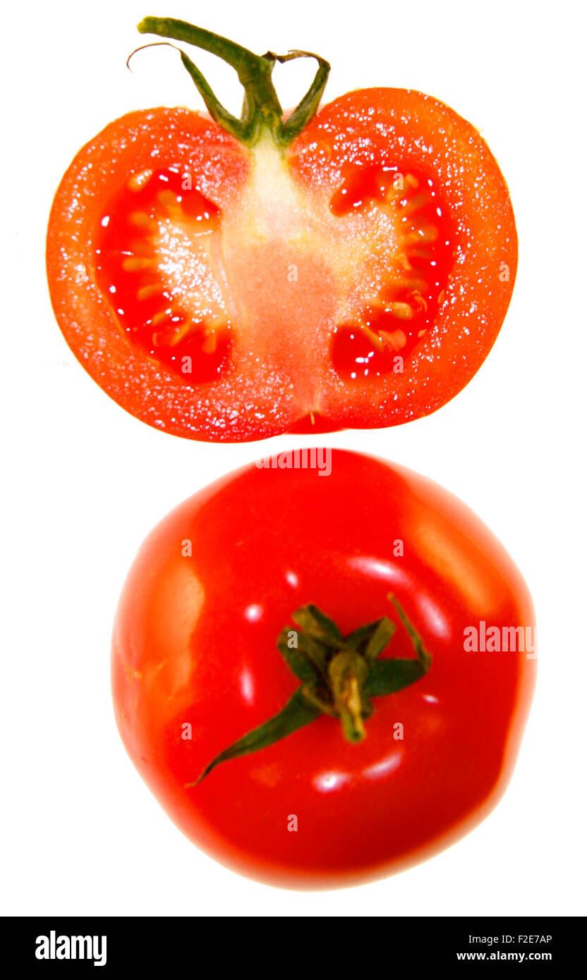 Tomaten - Symbolbild Nahrungsmittel . Stock Photo