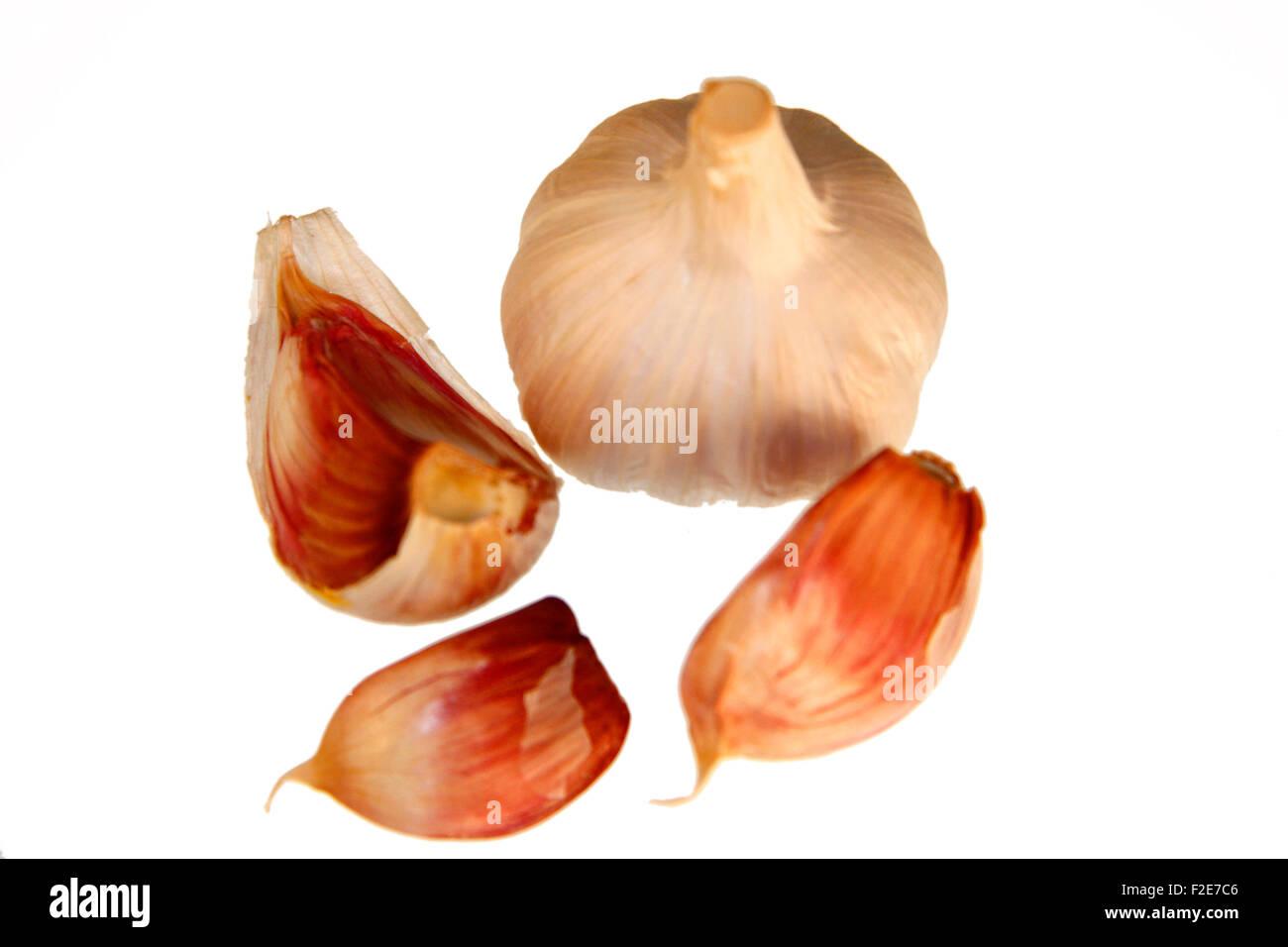 Knoblauch - Symbolbild Nahrungsmittel. Stock Photo
