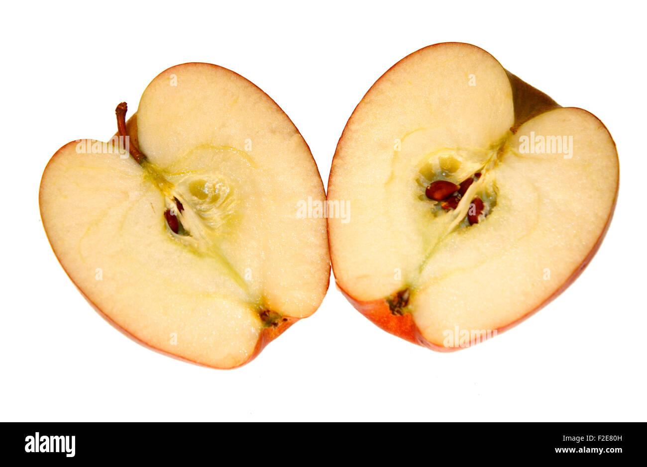 Apfel - Symbolbild Nahrungsmittel. Stock Photo