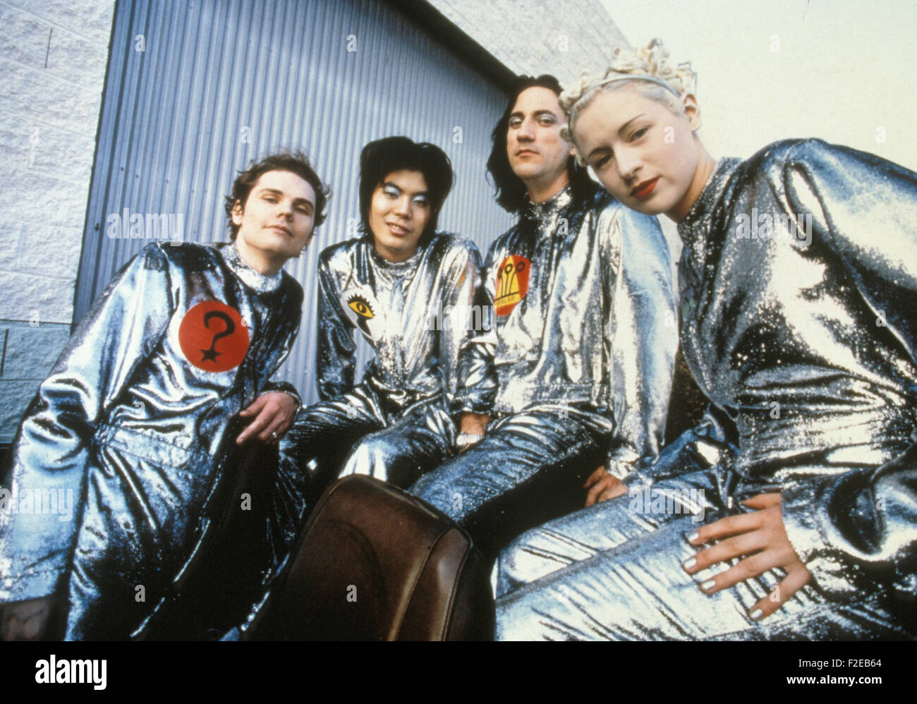SMASHING PUMPKINS Promotional photo of US rock group about 2000. - Stock Image