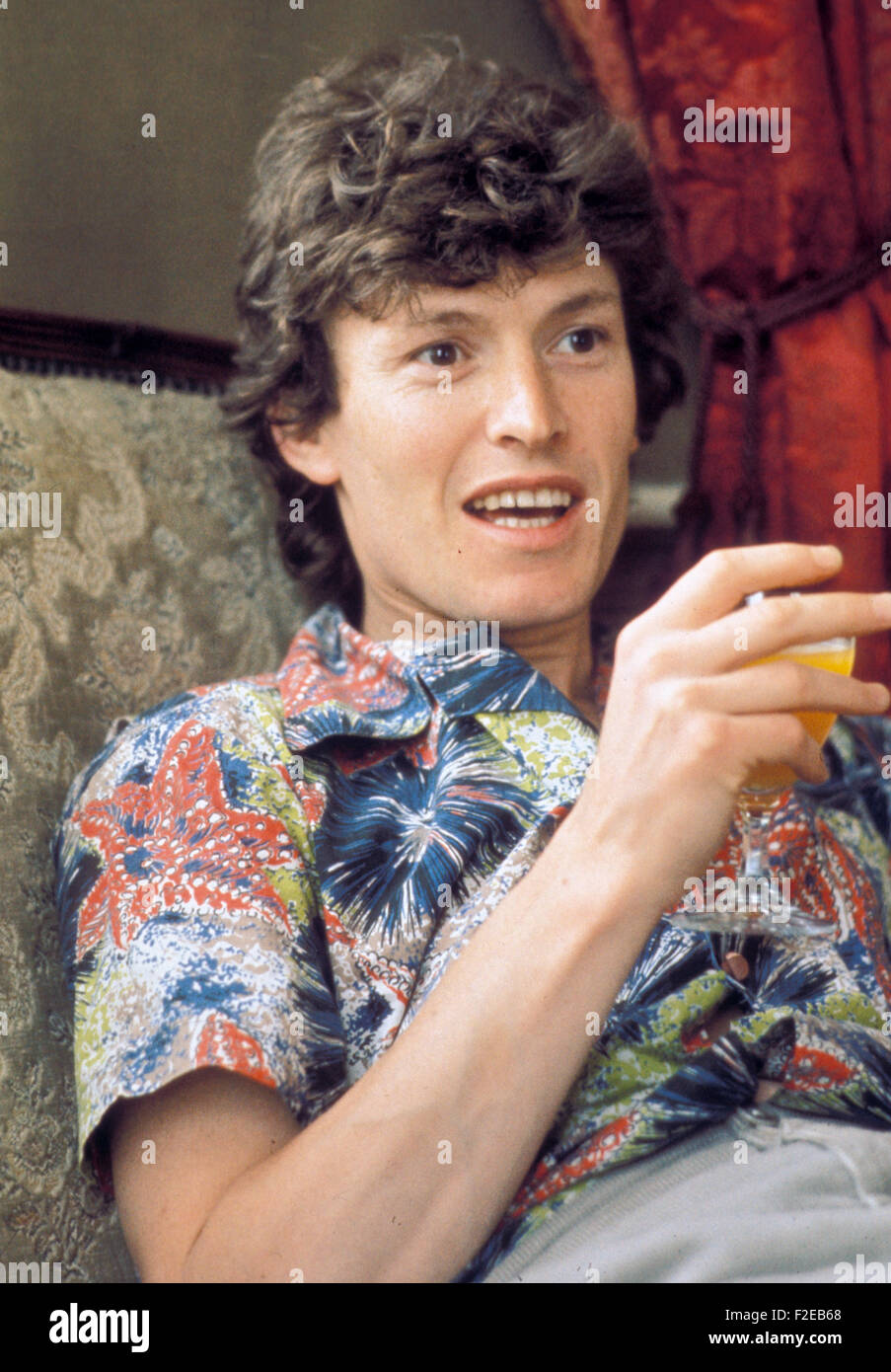 STEVIE WINWOOD English rock musician in 1977 - Stock Image