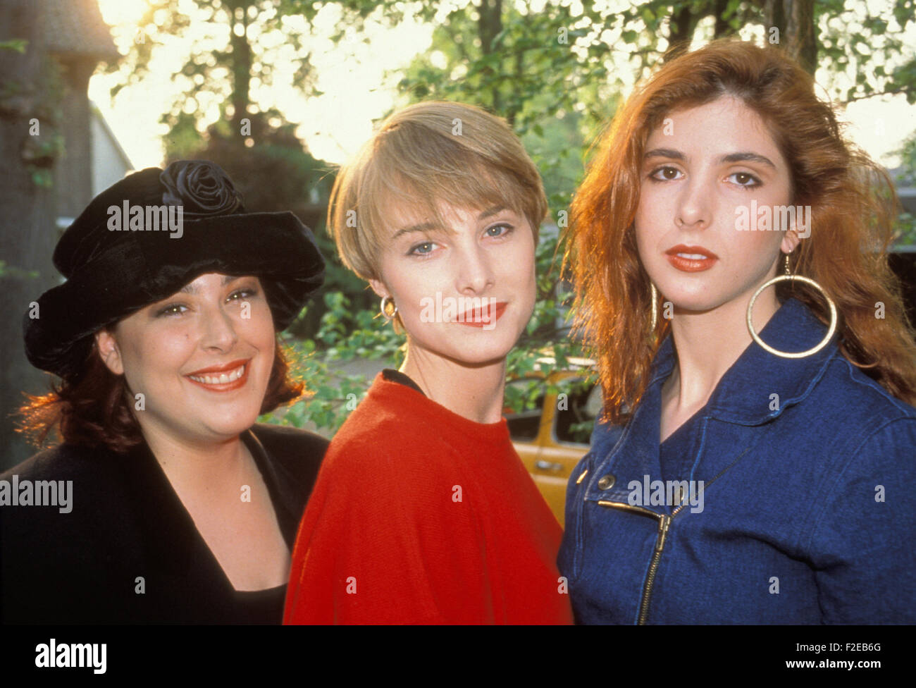 WILSON PHILLIPS  US vocal trio about 1990. - Stock Image