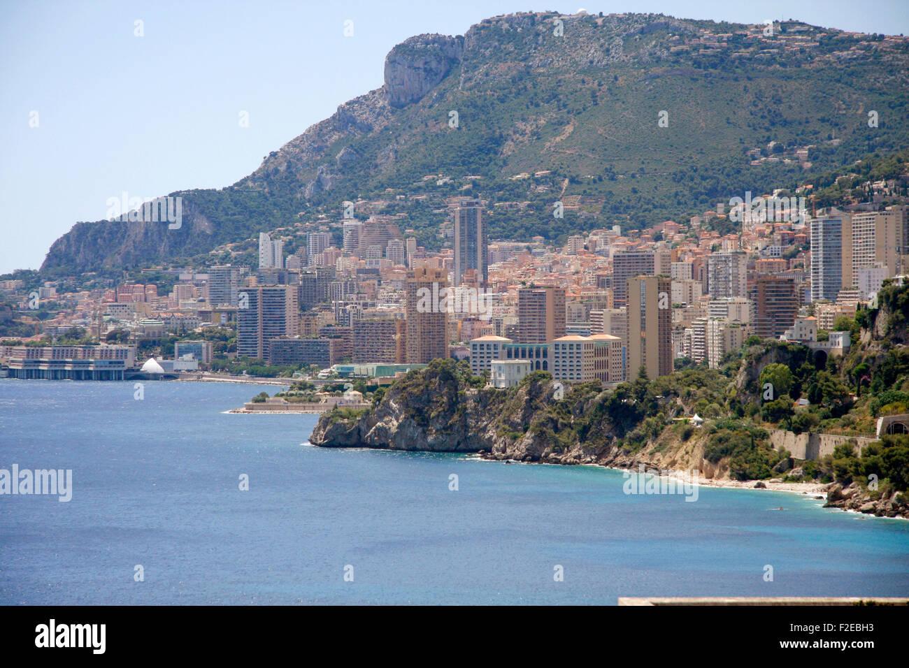 Impressionen: Monte Carlo, Monaco, Cote d Azur. - Stock Image