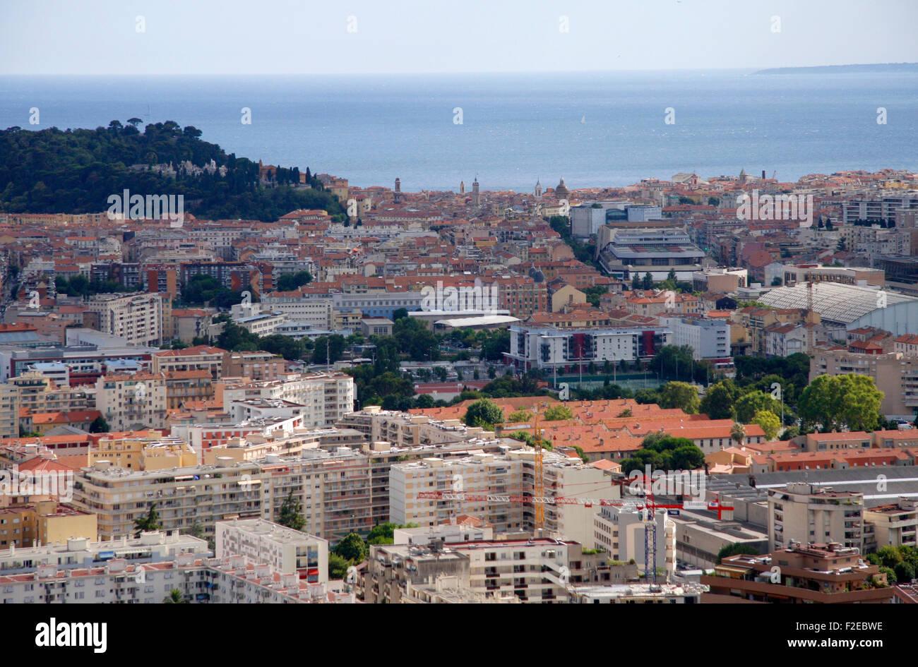Impressionen: Nizza, Cote d Azur, Frankreich. - Stock Image