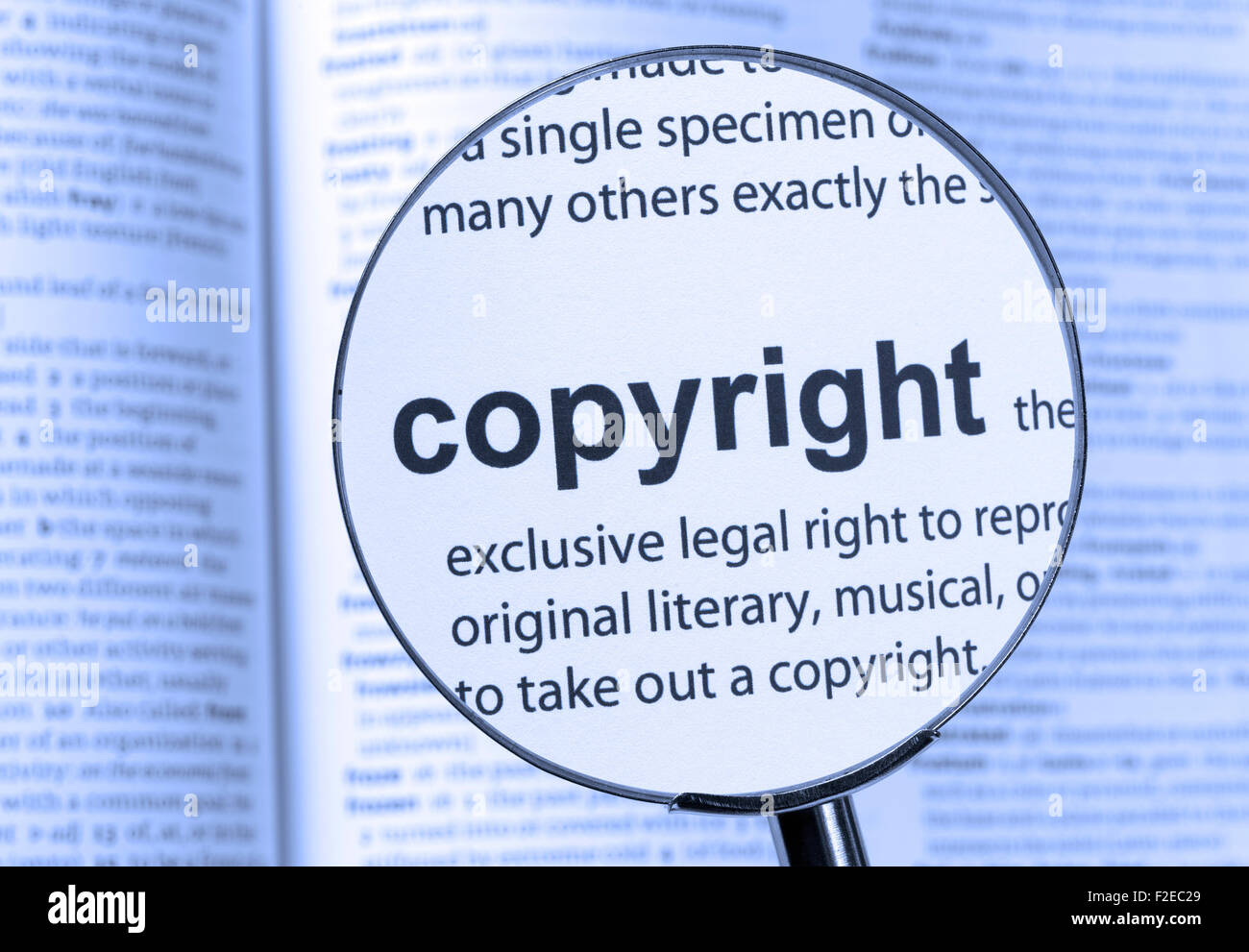 copyright dictionary definition single word stock photos & copyright
