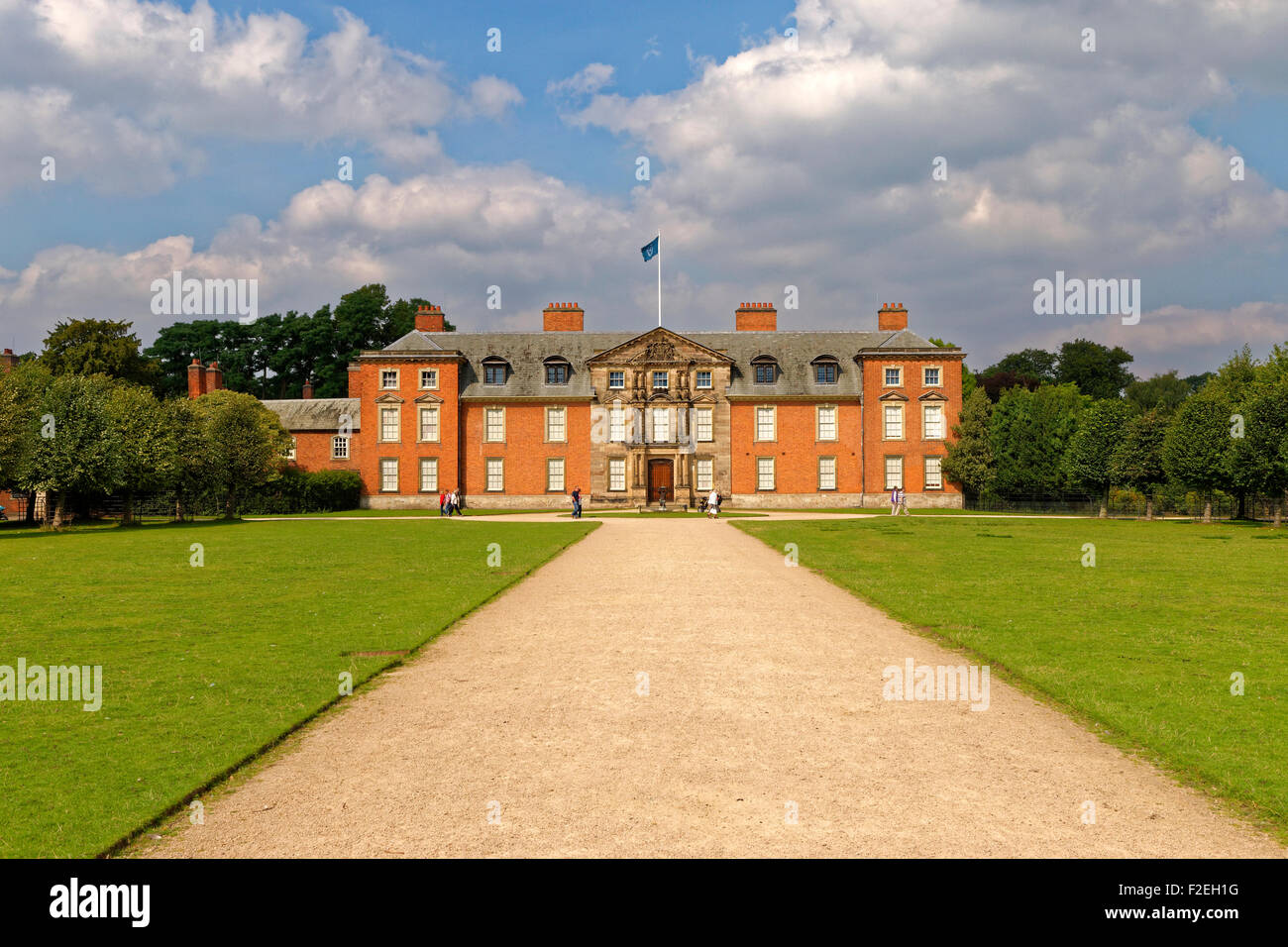 Dunham Massey Hall, Dunham Park, Altrincham, Cheshire. Greater Manchester. Former seat of The Lord Stamford. - Stock Image