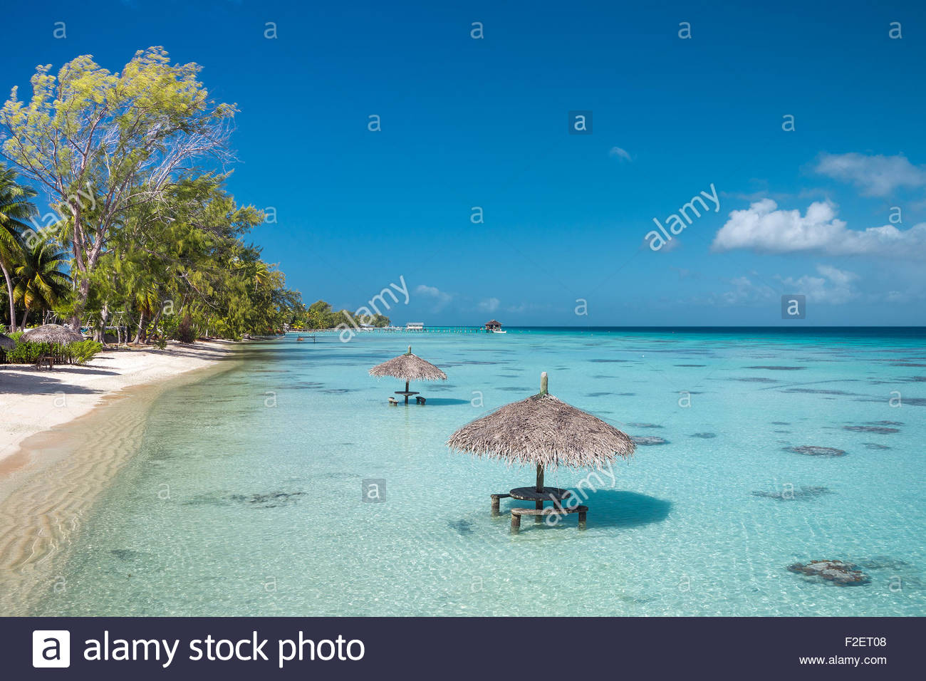 Fakarava (French Polynesia) Stock Photo