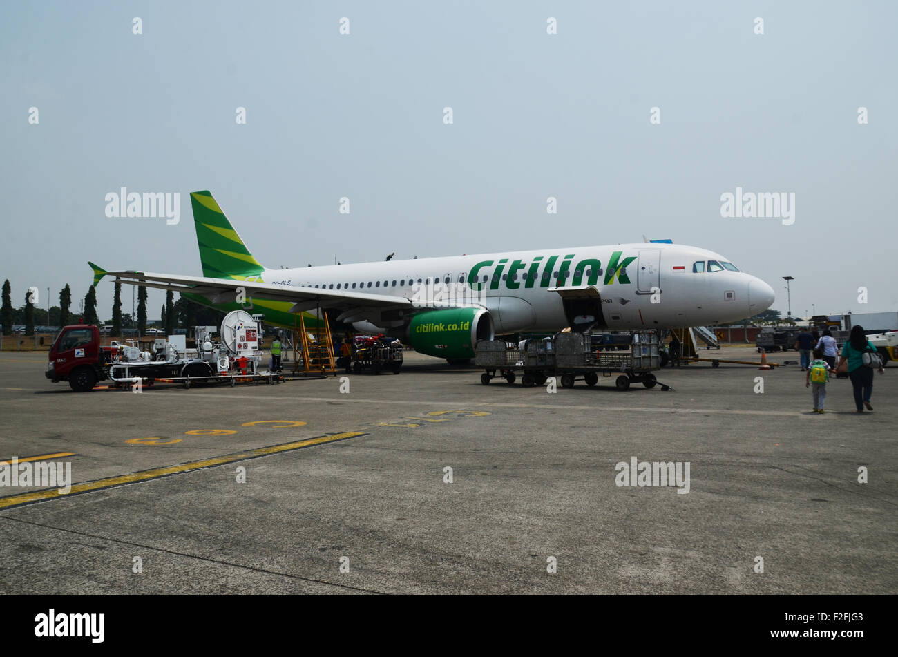 Citilink twin jet Airbus 320 - Stock Image