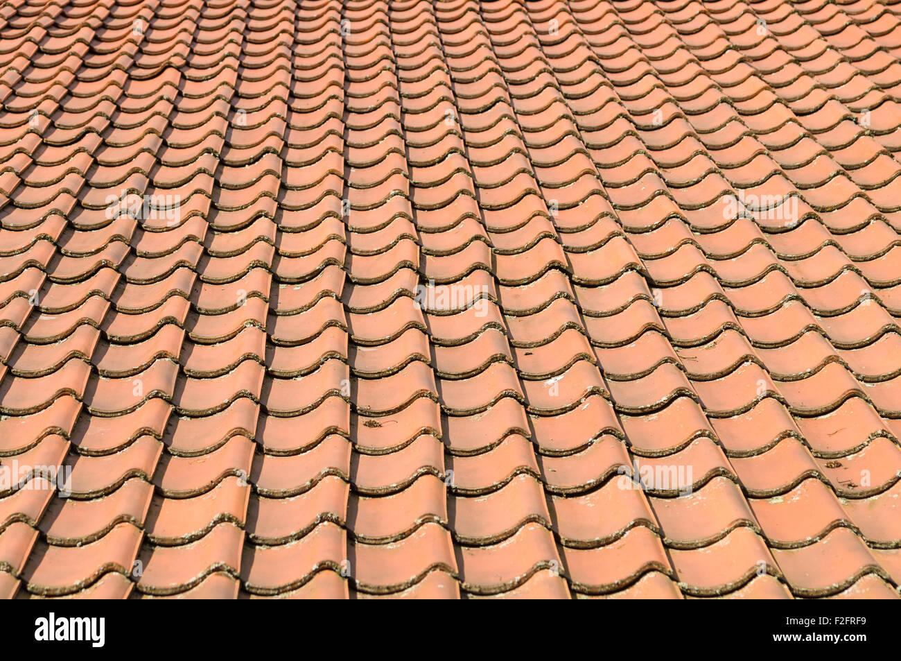 Orange Roof Tiles Stock Photos Amp Orange Roof Tiles Stock