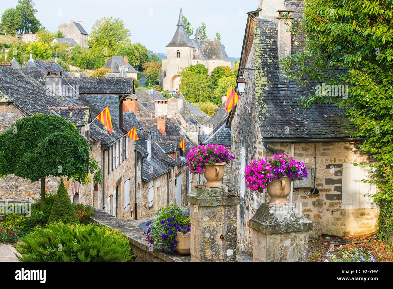 Turenne, Limousin, France - Stock Image