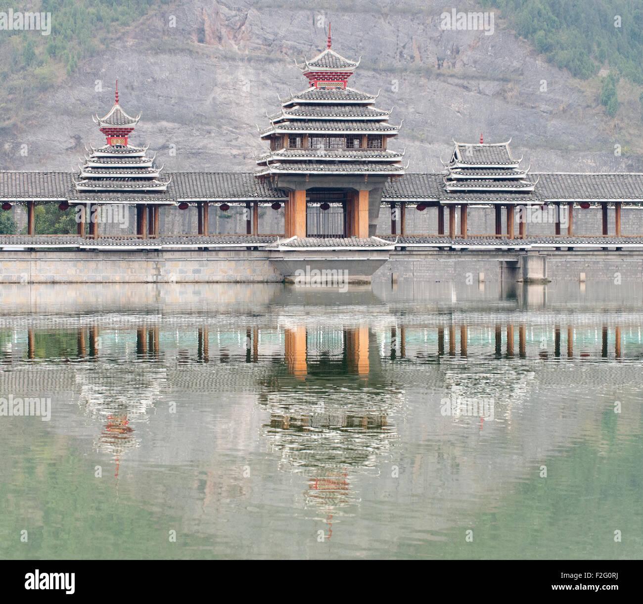 Bridge in Kaili, Guizhou, China Stock Photo