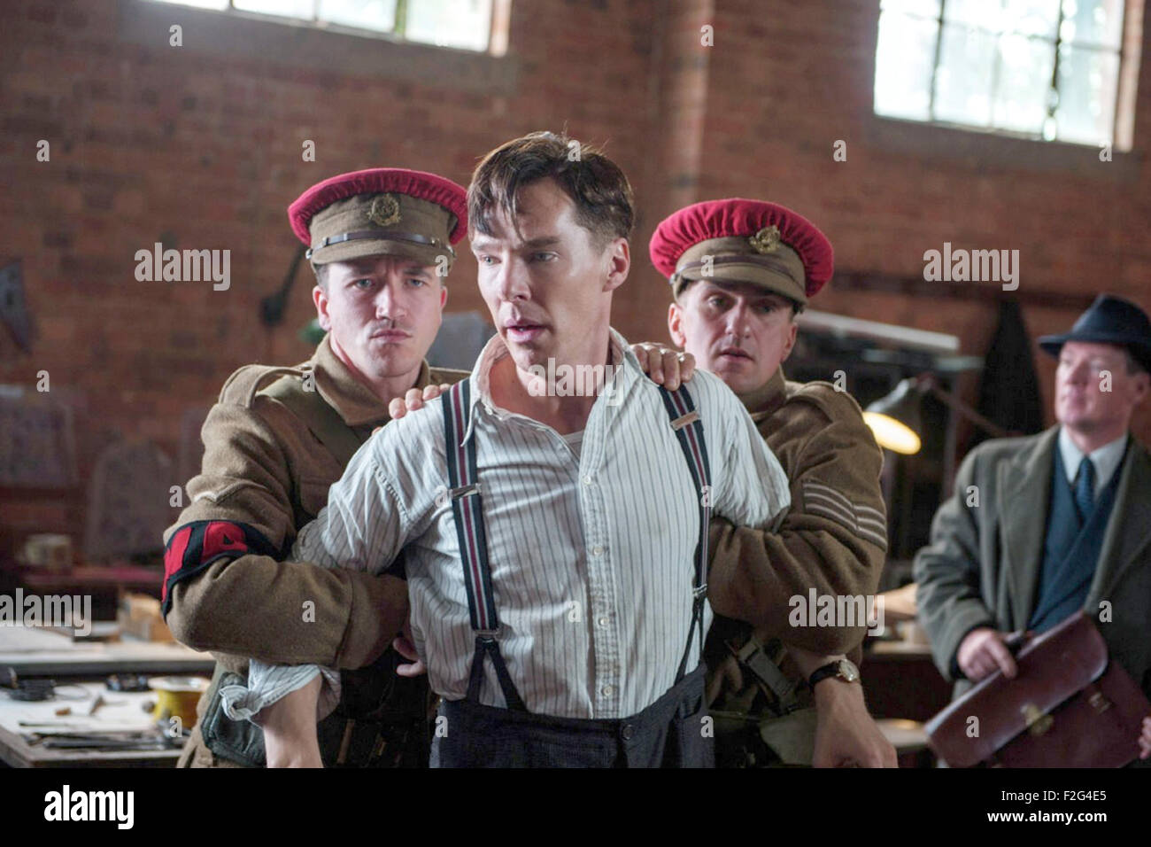 The Imitation Game 2014 Weinstein Company Film With Benedict Stock Photo Alamy