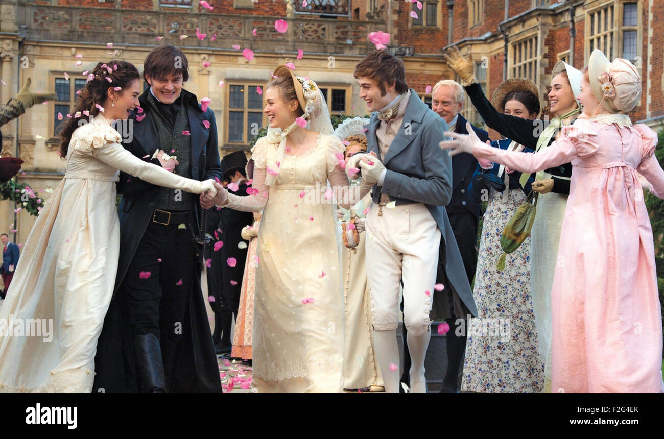 PRIDE AND PREJUDICE AND ZOMBIES 2016 Screen Gems film with Lily ...
