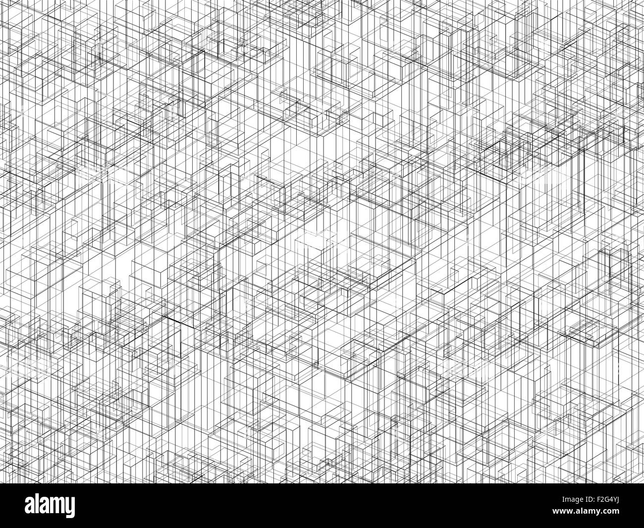 Wire Frame Model Black and White Stock Photos & Images - Alamy