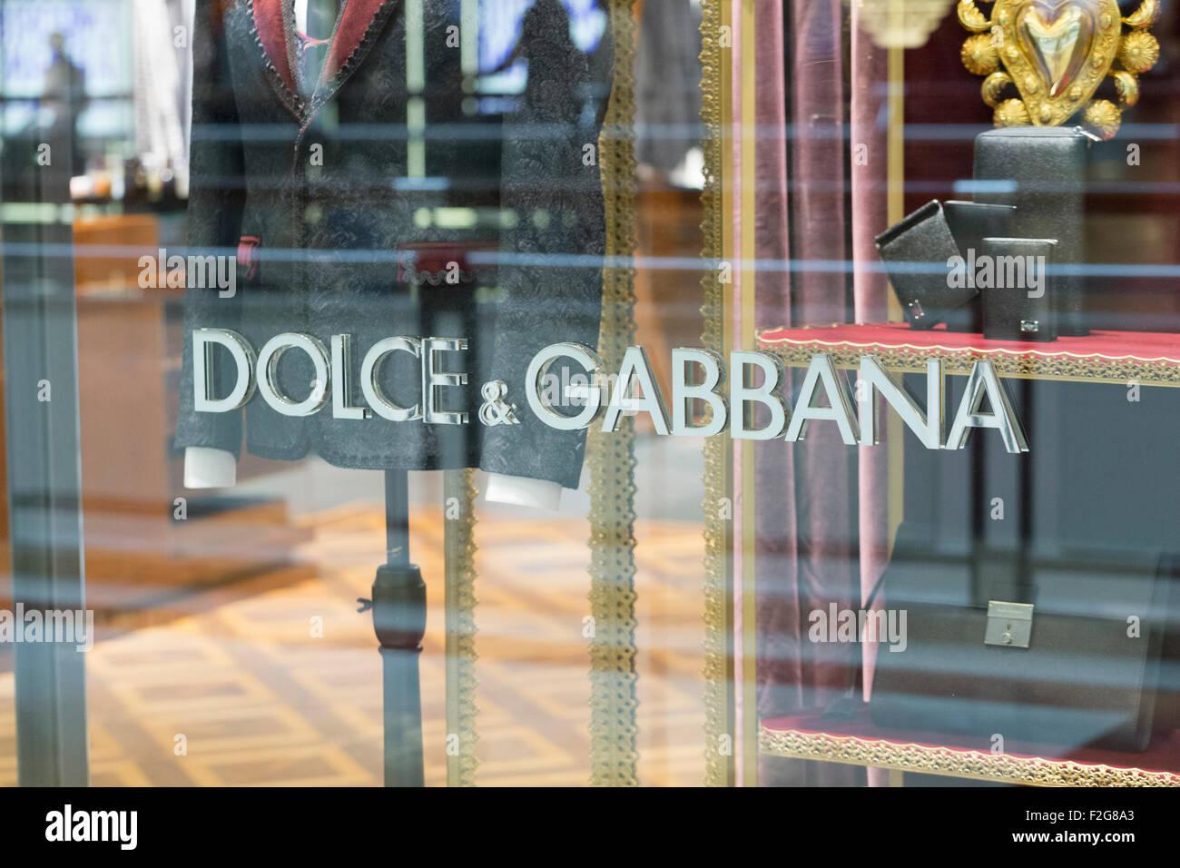 Dolce & Gabbana store - Stock Image