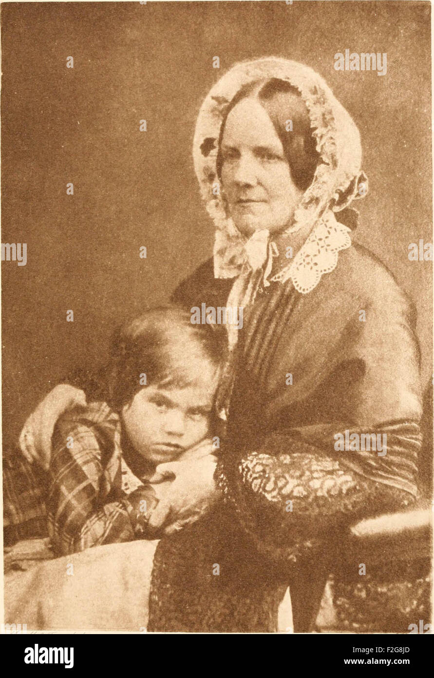 Emma Darwin, a century of family letters, 1792-1896 Stock Photo