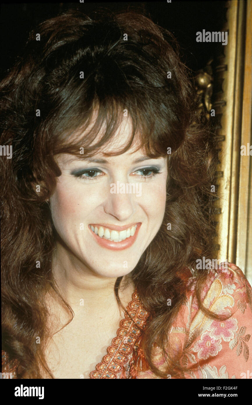 GRACE SLICK of US group Jefferson Airplane in 1968. Photo Tony Gale - Stock Image