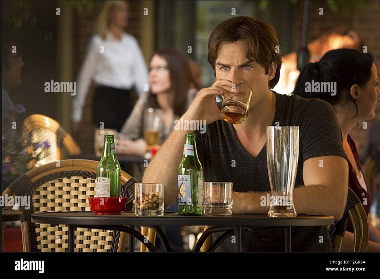 THE VAMPIRE DIARIES 2009 The CW  film with Ian Somerhalder Stock Photo
