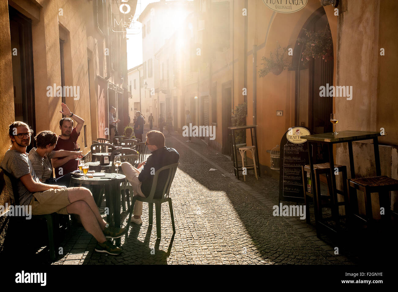 "Italy Piedmont Bra 18th September 2015 the fair ""Cheese"" Stock Photo"