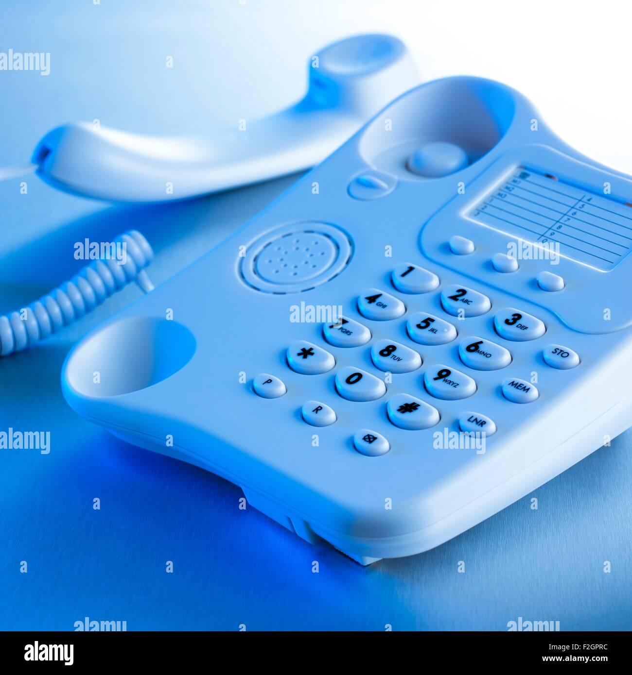 Landline telephone - Stock Image