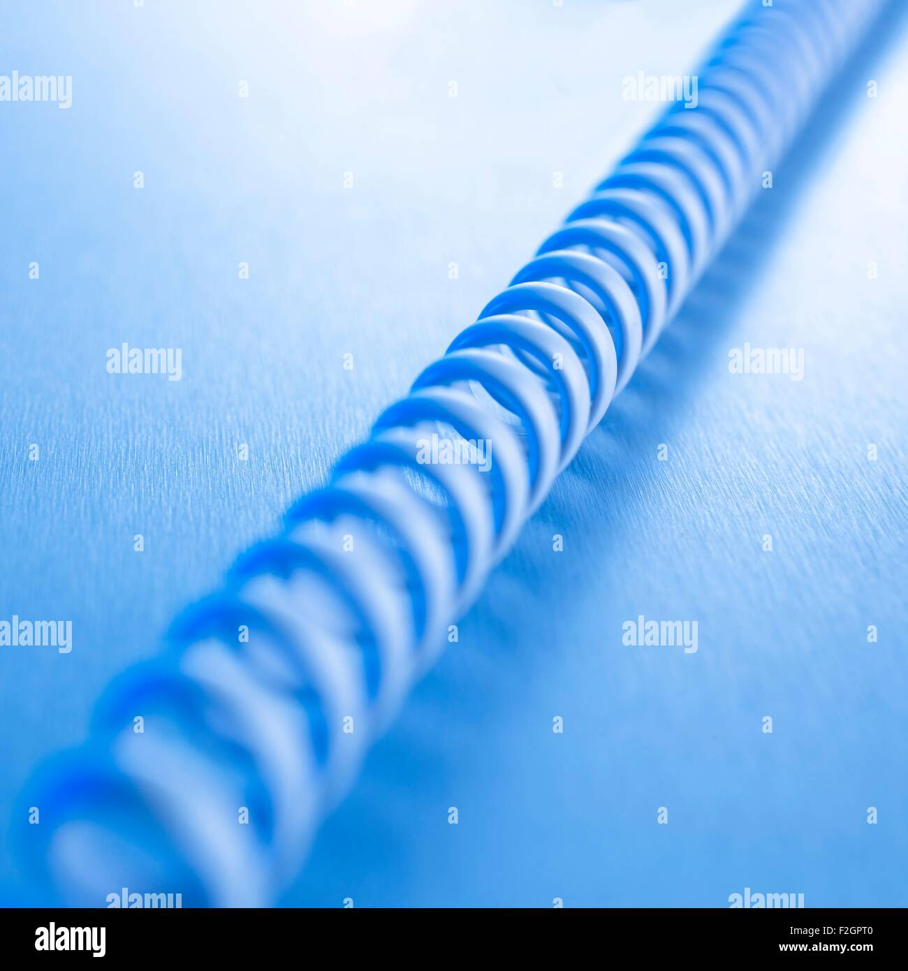 Telephone cord - Stock Image