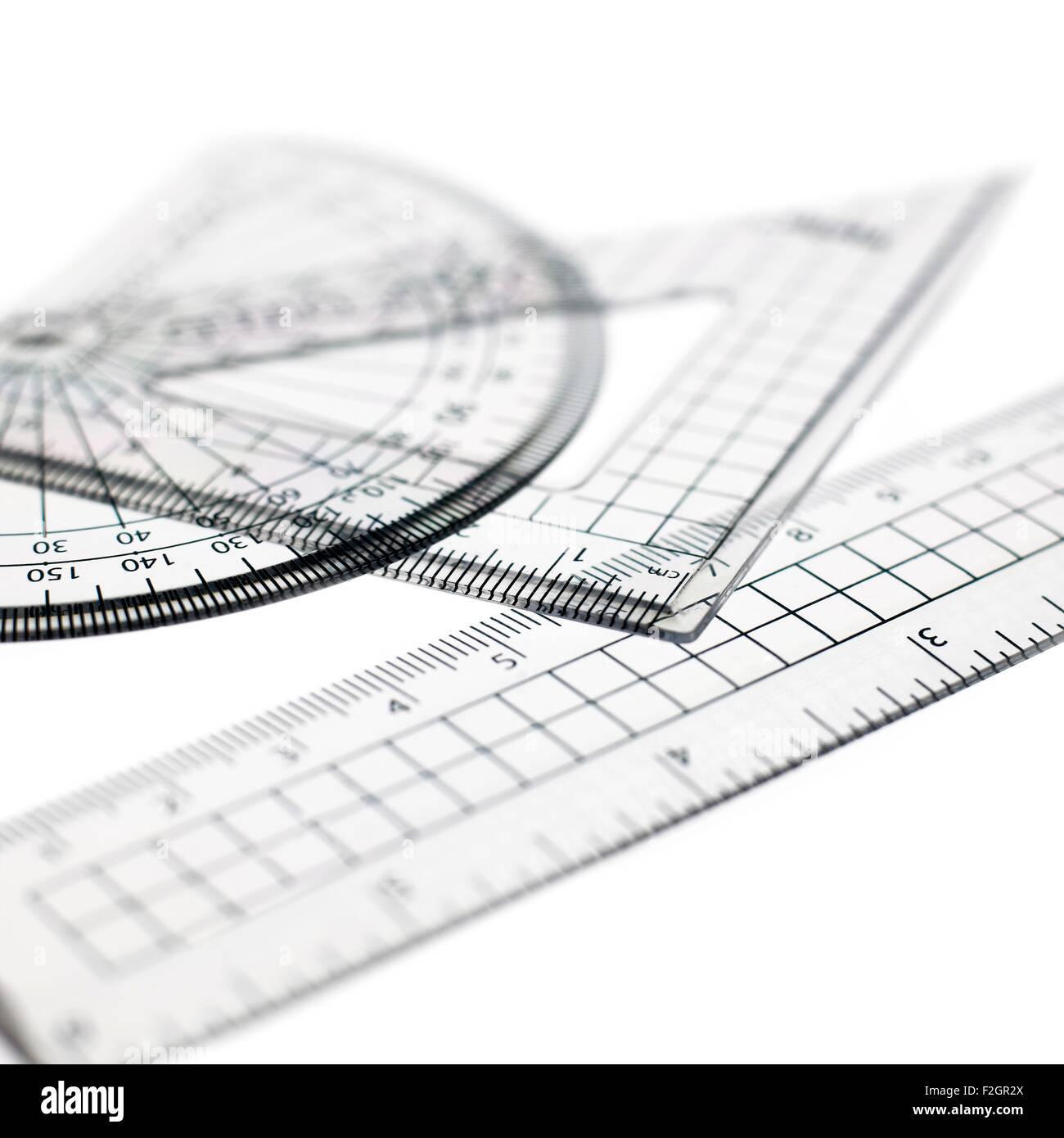 Geometry set - Stock Image