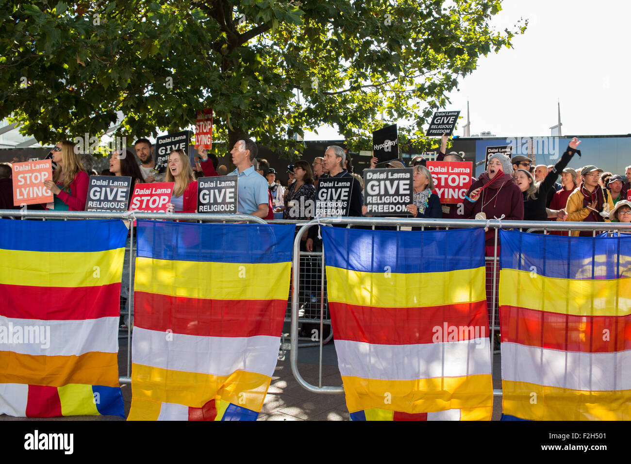 London, UK  19th September, 2015  Protest organised by