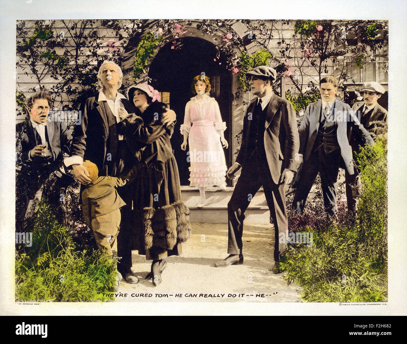 Miracle Man, The (1919) 01 - Movie Poster - Stock Image