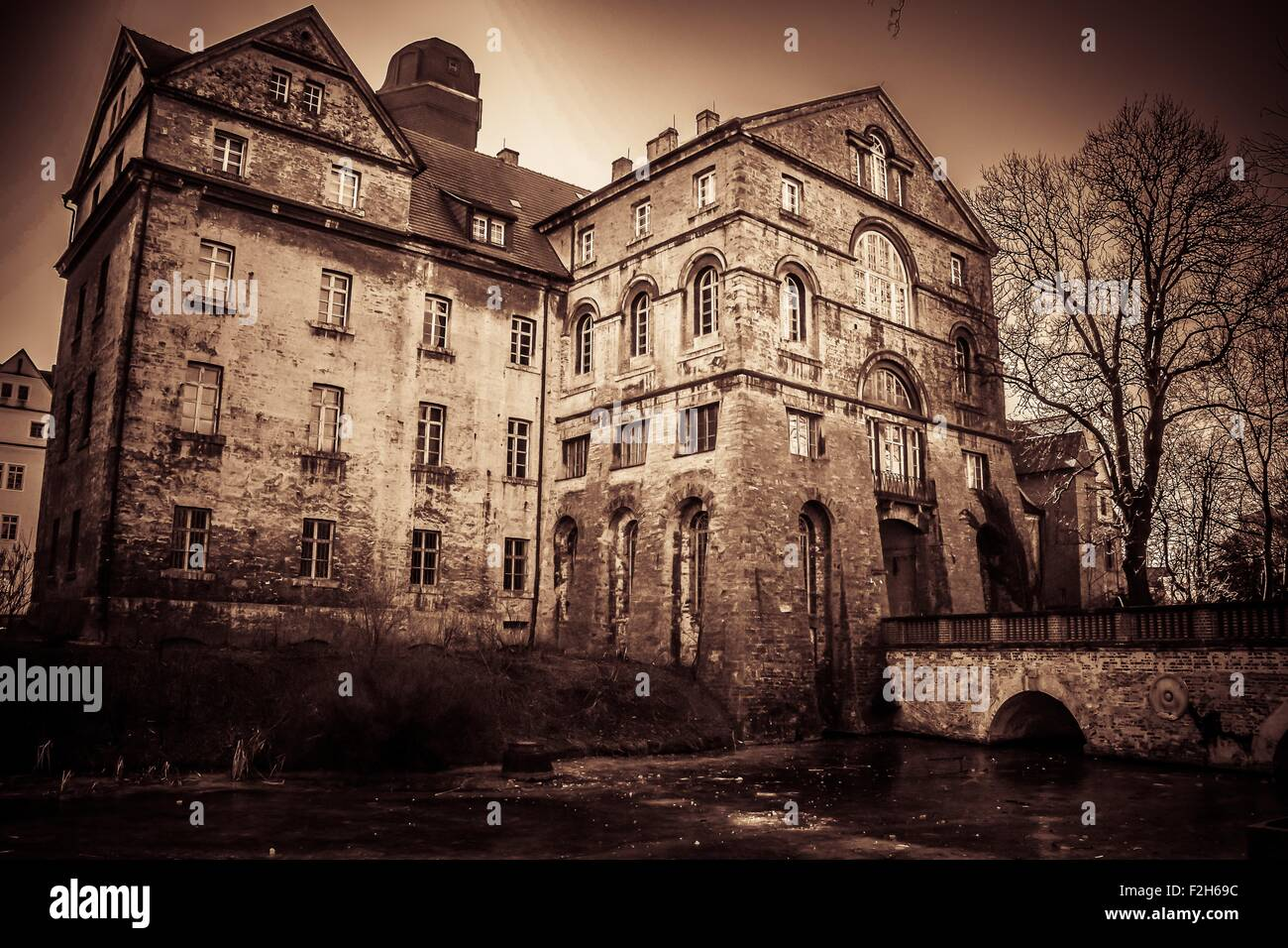 Old building - Stock Image
