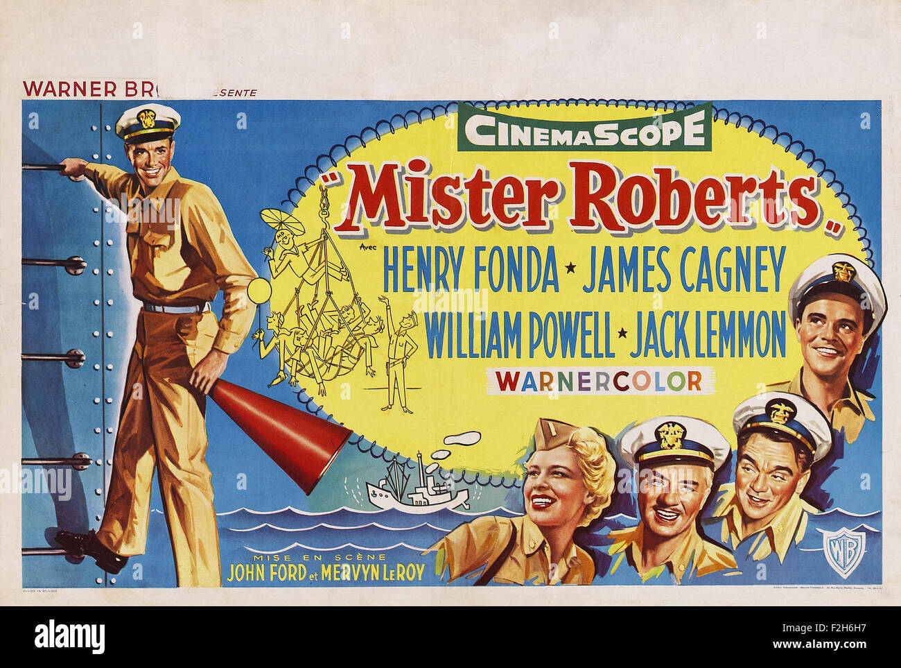 Mister Roberts 02 - Movie Poster - Stock Image