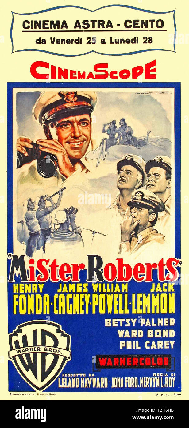 Mister Roberts 04 - Movie Poster - Stock Image
