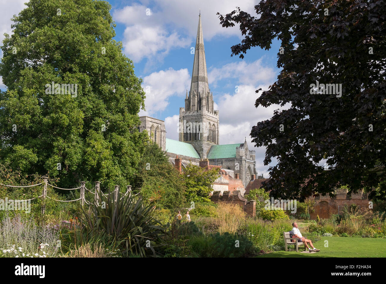 Chichester West Sussex Uk Saturday Stock Photos