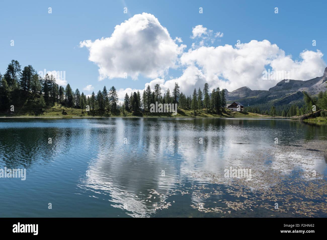 Beautiful view of the italian dolomites - Stock Image