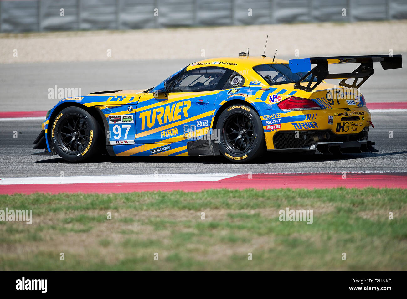 Austin, Texas, USA. 19th Sep, 2015. Marsal And Paltala #97 BMW Z4 Racing  The TUDOR United Sports Car Championship At Lone Star Le Mans, Circuit Of  The ...