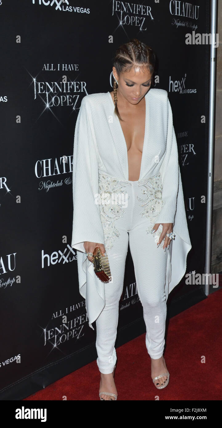 70c16c7e351f Singer Jennifer Lopez celebrates her much-anticpated Las Vegas residency  with a blowout launch party at Chateau Nightclub   Rooftop on September 19