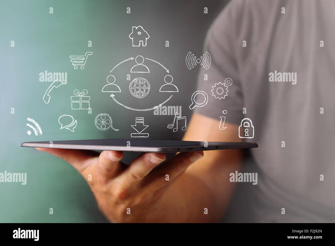 Digital Power - Stock Image