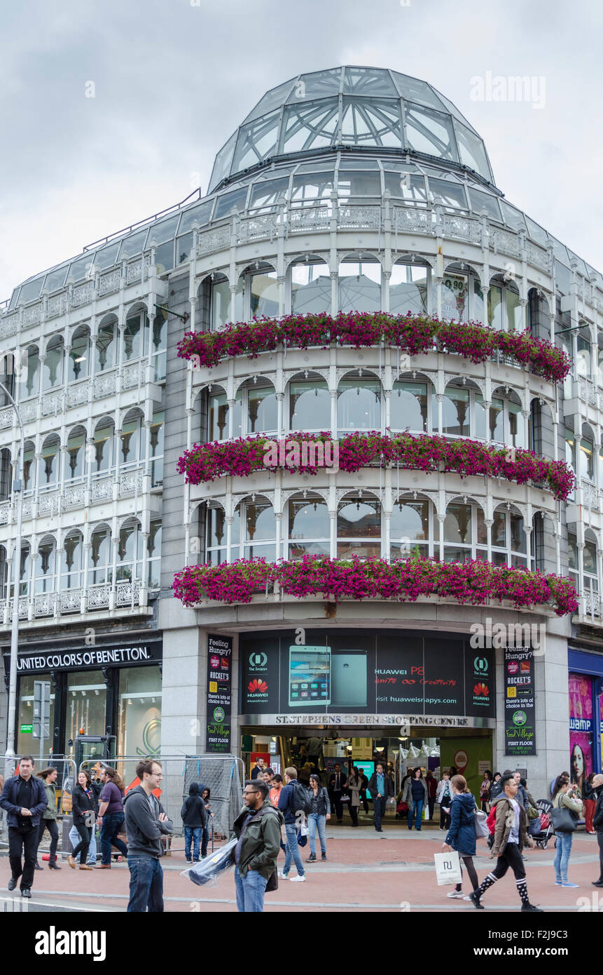 Stephen's Green Shopping Centre, Dublin, Ireland - Stock Image