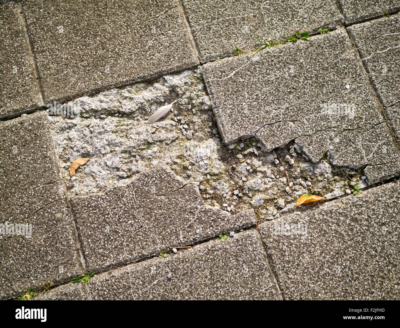 Old And Broken Asbestos Floor Tiles Stock Photo 87688537 Alamy