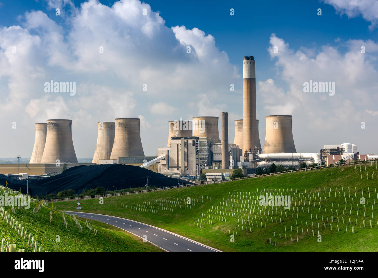 Ratcliffe-on-Soar Power Station - Stock Image