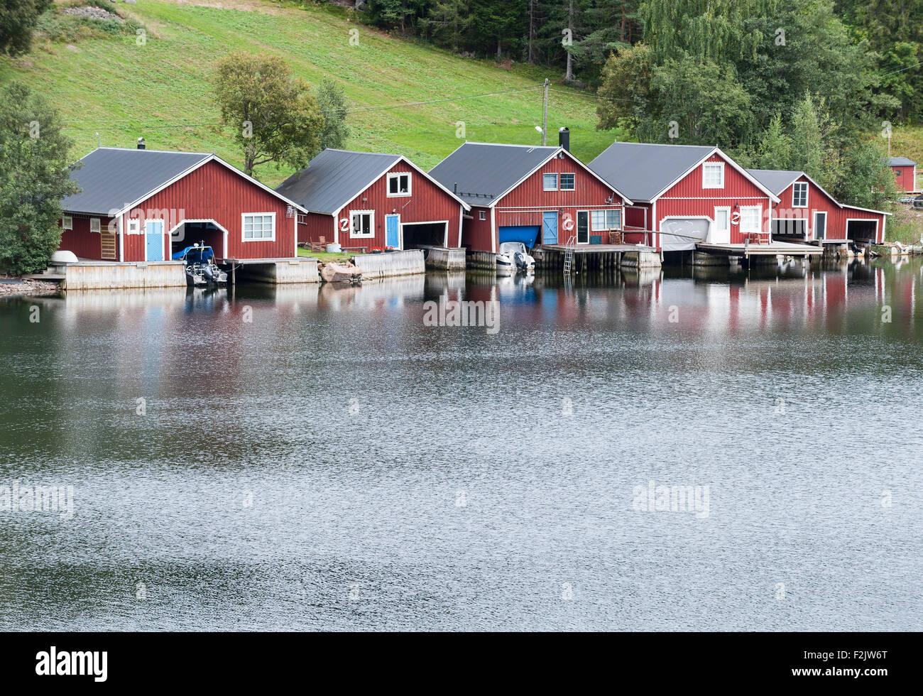 Fishing village - Stock Image