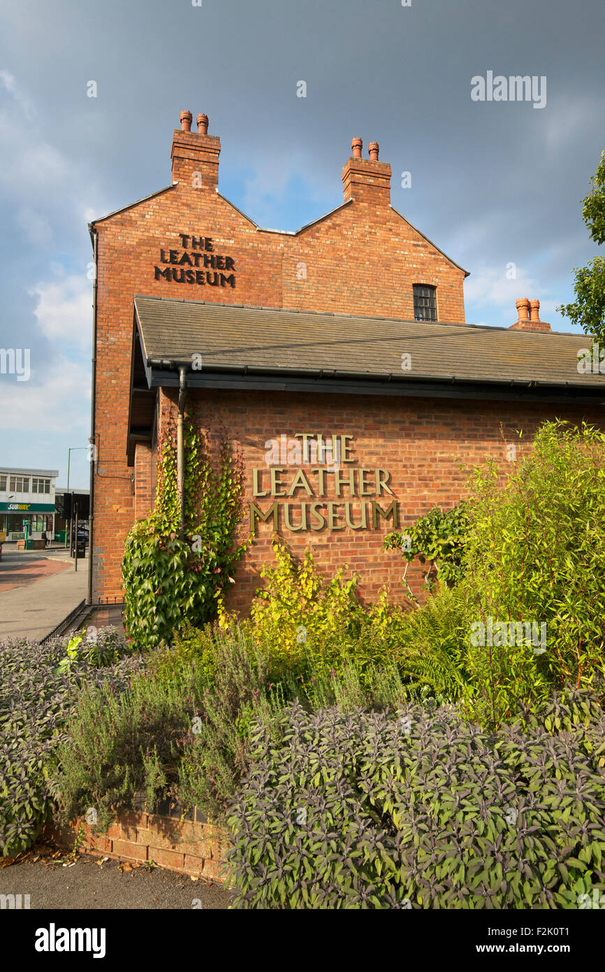 Walsall Leather Museum Walsall West Midlands England UK - Stock Image