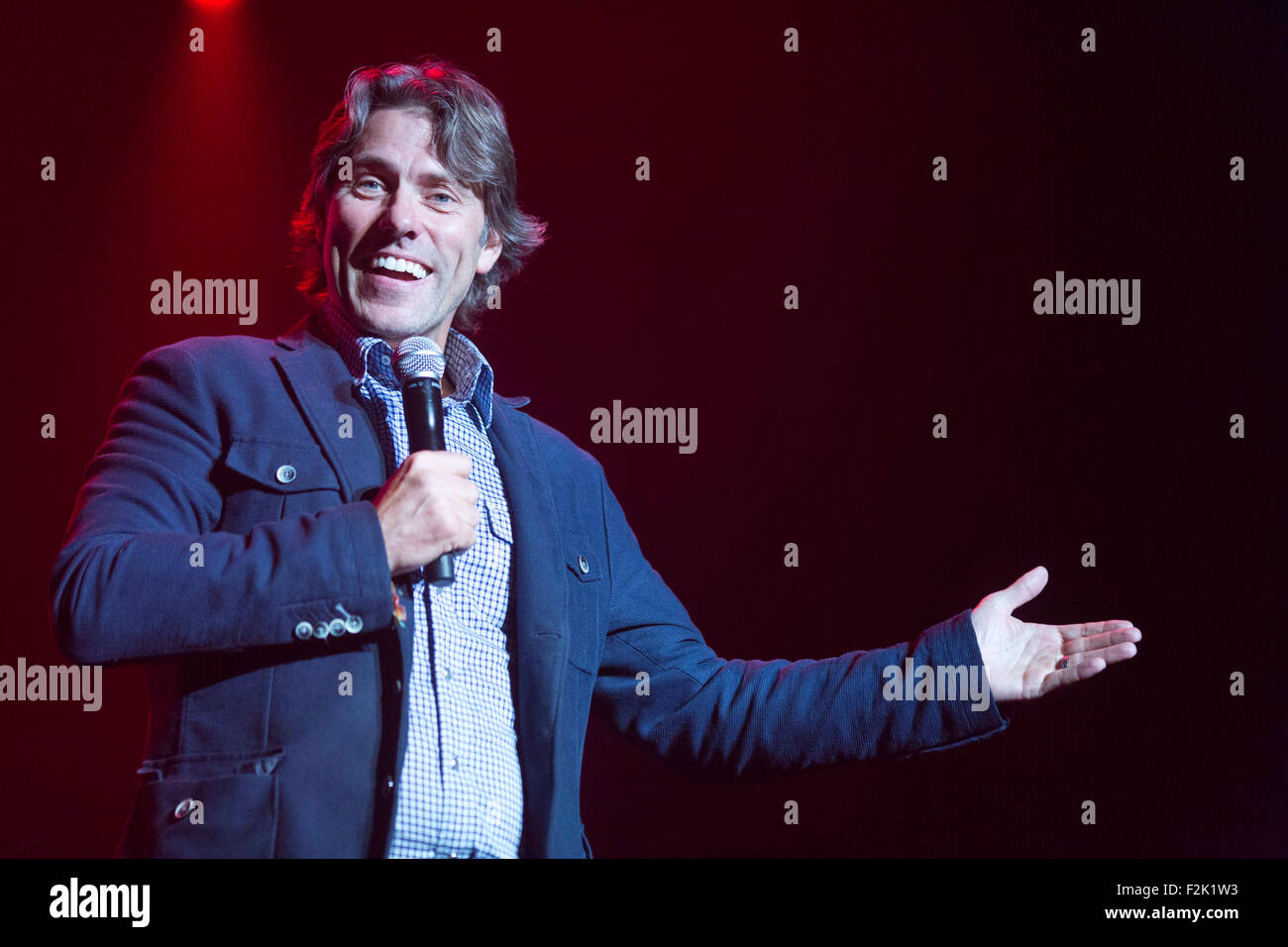 19/9/15 With Love From Liverpool Concert. Comedian John Bishop - Stock Image