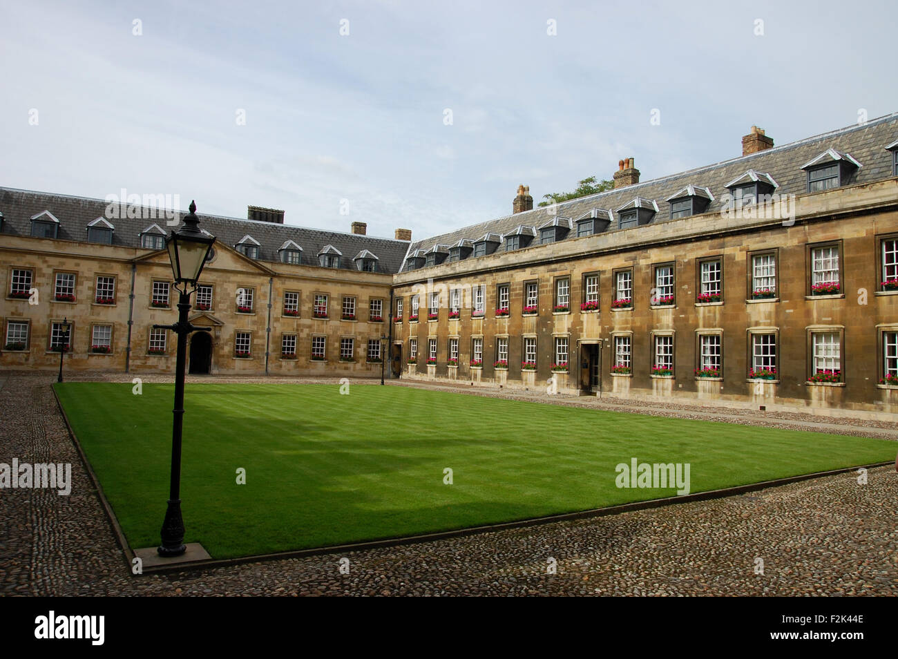 Peterhouse College, Cambridge, England. - Stock Image