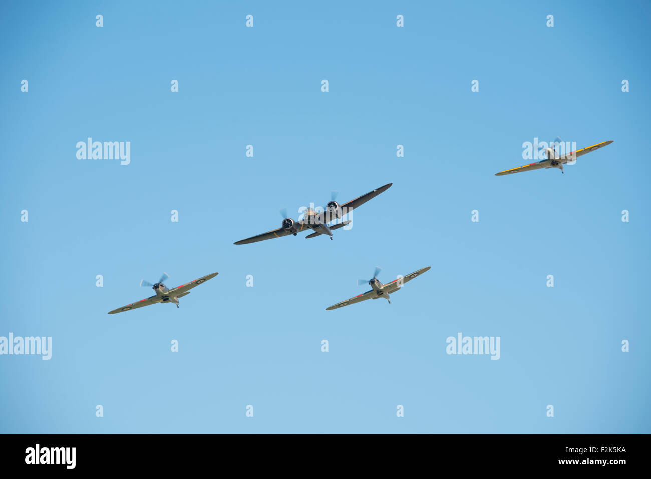 Duxford, UK. 20th Sep, 2015. Duxford The Battle of Britain Anniversary Air Show 2015 Sunday Credit:  Jason Marsh/Alamy - Stock Image