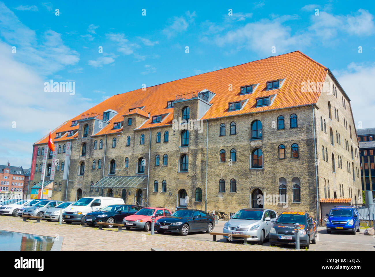 Dansk Arkitektur Center, Danish architecture centre, Christianshavn, Copenhagen, Denmark - Stock Image